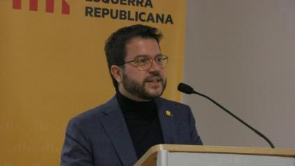 El vicepresident del Govern, Pere Aragonès, aquest dissabte