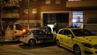El dispositiu policial a Terrassa on un mosso ha assassinat la seva exparella
