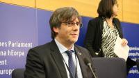 L'eurodiputat de JxCat, Carles Puigdemont