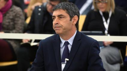El major dels Mossos d'Esquadra, Josep Lluís Trapero, a l'Audiència Nacional