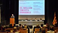 Un moment de l'acte , ahir a l'auditori Josep Irla de Girona