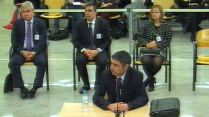 El major Trapero declara a l'Audiència Nacional