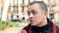 El portaveu d'Élite Taxi, 'Tito' Álvarez, en una imatge d'arxiu