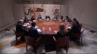 La reunió del Govern català