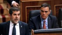 Jordi Sànchez el mes de maig del 2019 durant la sessió constitutiva del Congrés dels Diputats