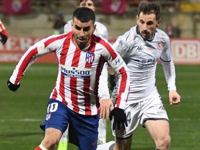 Ángel Correa i Julen Castañeda, autors de dos dels gols d'una nit èpica