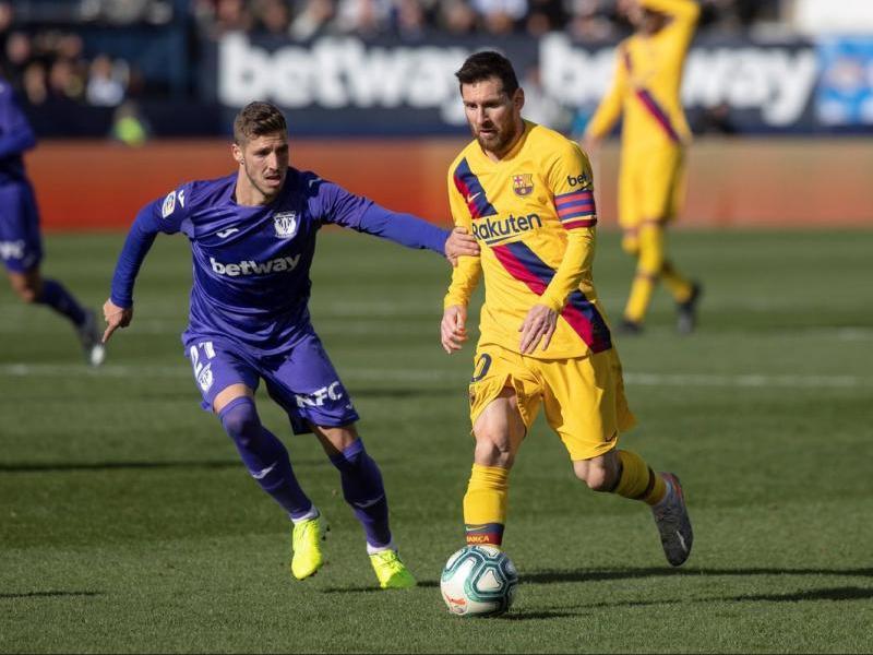 Un moment del Leganés - Barça del mes de novembre passat