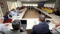 La reunió del Comitè d'Anàlisi i Seguiment de Malalties Transmissibles Emergents d'Alt Risc de Catalunya es va fer ahir al migdia a Barcelona