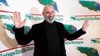 Stefano Bonaccini, candidat del PD a les regionals de l'Emília-Romanya, celebrant ahir la victòria
