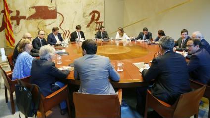 Consell executiu del Govern de Carles Puigdemont l'any 2017