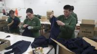Una de les cooperatives que donen feina a persones discapacitades
