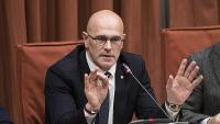 L'exconseller Raül Romeva al Parlament