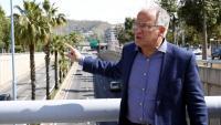 El regidor del PP a l'ajuntament de Barcelona, Josep Bou, en una imatge de la campanya per a les municipals