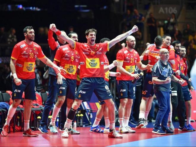La selecció espanyola tomba Croàcia en la final de l'europeu (22-20)
