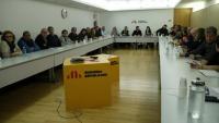 La reunió de la cúpula d'ERC