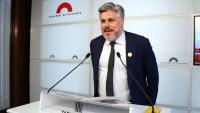 El president del grup parlamentari de JxCat, Albert Batet