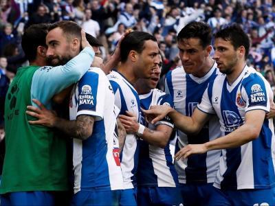 De Tomás ha fet cinc gols en cinc partits des que va fitxar per l'Espanyol