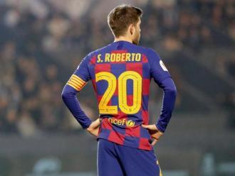 Sergi Roberto és un dels capitans de la plantilla del FC Barcelona