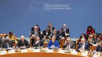 Merkel, presidint la Conferència de Berlín sobre Líbia, el gener passat