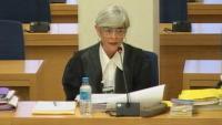 L'advocada de Trapero i de Laplana, Olga Tubau, en un moment del judici a la cúpula dels Mossos