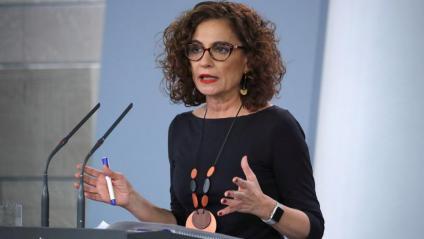 La portaveu de l'Executiu i ministra d'Hisenda, María Jesús Montero
