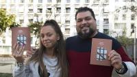 Talita Gabarre i Sam García estan molt orgullosos del reconeixement a l'entitat, que només té dos anys
