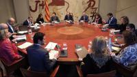 El president Torra encapçala la reunió setmanal del Govern