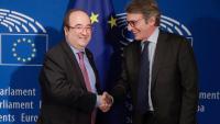 """Iceta diu que Sassoli veu amb bons ulls l'inici del diàleg a Catalunya per resoldre el """"problema polític"""""""