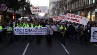 Marxa dels treballadors de la planta de Nissan en protesta pels plans de la multinacional japonesa respecte a la planta de Barcelona