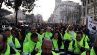 Un miler i escaig de treballadors de Nissan i de companyies auxiliars es van manifestar a Barcelona