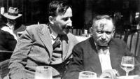 Els amics Stefan Zweig i Joseph Roth, als anys trenta