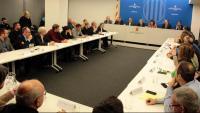 La reunió de Torra i Jordà amb alcaldes i representants del sector