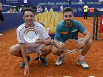 Zeballos i Granollers quan van guanyar a Buenos Aires