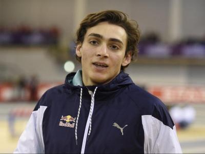 Duplantis, després de competir a Glasgow
