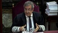Javier Zaragoza, durant les sessions del judici del procés