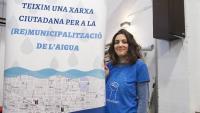 La portaveu d'Aigua és Vida, Míriam Planas