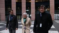 Puigdemont, al Parlament Europeu amb Comín i Ponsatí