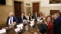 Una reunió de la comissió bilateral Estat-Generalitat que es va fer a principis d'agost de l'any 2018
