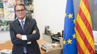 Artur Mas, fotografiat l'octubre del 2019 al despatx d'expresident de la Generalitat