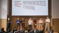 La plataforma Independentistes d'Esquerra s'ha presentat a l'Ateneu Barcelonès