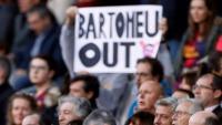 Bartomeu va haver de sentir xiulets i veure mocadors ahir al Camp Nou