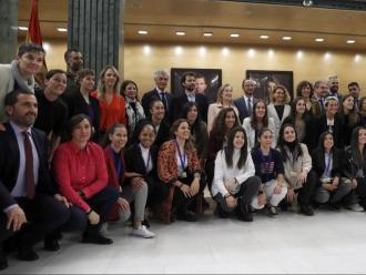 El conveni col·lectiu del futbol femení es va presentar ahir en el Congrés dels Diputats