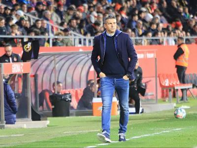 L'entrenador del Girona, Pep Lluís Martí