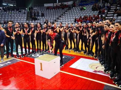 El CPA Olot a punt de pujar al podi com a campió de Catalunya