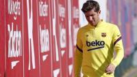 Sergi Robert un altre lesionat al Barça