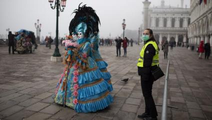 Cancel·lat el carnaval de Venècia
