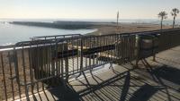 La platja del Somorrostro es va tancar al públic aquest dilluns