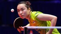 La jugadora japonesa Mima Ito en un recent torneig del World Tour de la ITTF