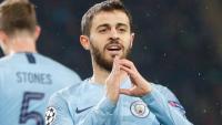 Bernardo Silva celebra un gol amb el Manchester City