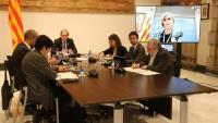 El president Torra ha convocat una reunió de seguiment després de saber-se que hi ha un cas confirmat del Covid-19 a Catalunya